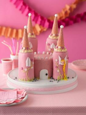 Princesss castle cake