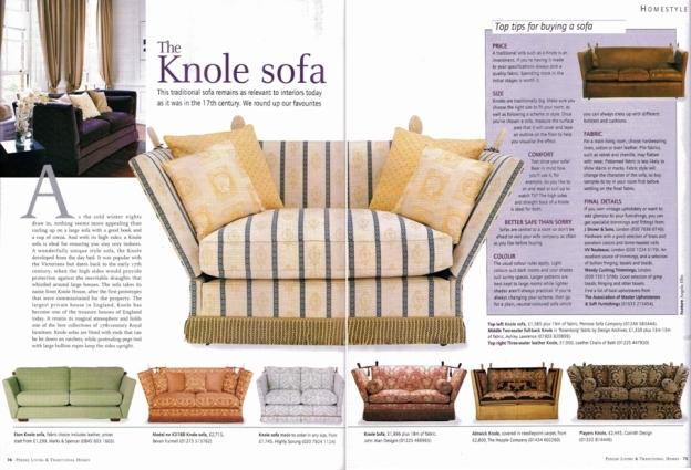 the Knole sofa