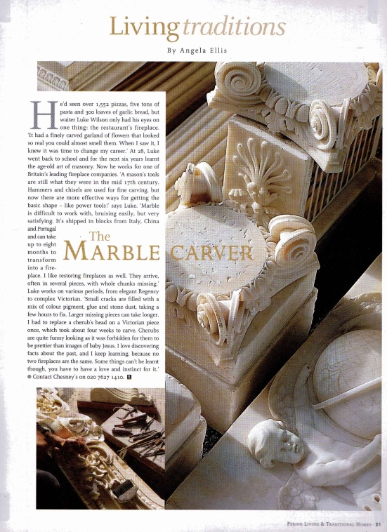 The marble carver