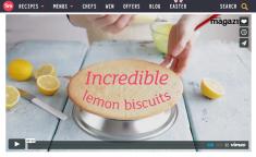 lemon bicuit video